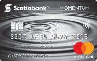 Scotia Momentum? Mastercard? Credit Card