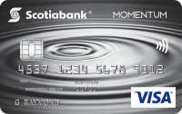 Scotia Momentum? No-Fee Visa Card