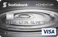Scotia Momentum? Visa Card