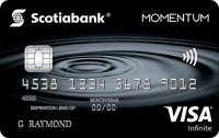 Scotia Momentum? Visa Infinite Card