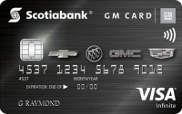 Scotiabank? GM? Visa Infinite Card