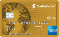 Scotiabank? Gold American Express? Card