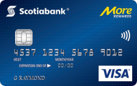 Scotiabank? More Rewards? Visa Card